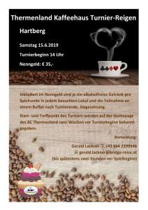 Kaffeehaus-Turnier Hartberg